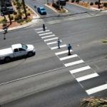 new pedestrian crosswalk from Tahiti Village to Outlet Mall