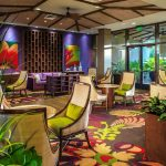 Our colorful award-winning lobby is a great place to relax.